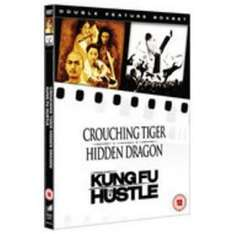 Kung Fu Hustle / Crouching Tiger, Hidden Dragon 2xDVD set £1.75 @ play/gowingstore