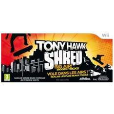 Tony Hawk: SHRED (includes Wireless Board Controller) (Wii) - £19.99 Delivered @ Play
