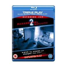 Paranormal Activity 2: Triple Play (2 Discs) (Blu-ray) - £9.99 Delivered @ Play