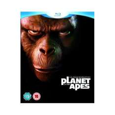 """""""Planet of the Apes"""" 5 Movie Set (Blu-ray) £16.99 at Play.com"""