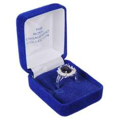Kate Middleton Royal Engagement style silver plated ring just £9.99 @ Amazon