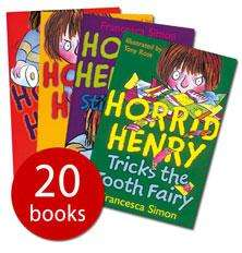 Horrid Henry's Big Bad Box - 20 books £16.95 inc pp (rrp £97.80) from The Book People