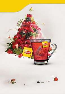 Free Lipton Infusions Red Fruits tea sample plus money off coupon