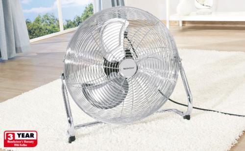 "Lidl 53 cm (21 inch diameter)  summer floor fan 170 watts ..lots of ""oomph"" £29.99"