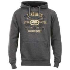 Men's Ecko Raw And Uncut Hooded Top - Charocal £11.99 @TheHut