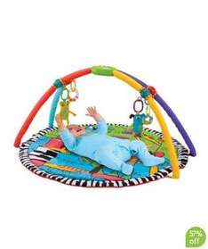 Baby K Playmat and Gym was £65.00 only £22 + free delivery to local store @ Mothercare
