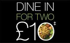dine in for 2 for £10 @ Marks & Spencer (Thurs 16th - Tues 21st)