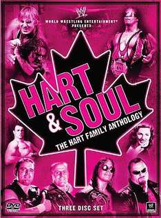 WWE: Hart & Soul: The Hart Family Anthology DVD (3 Discs) £6.99 from 10AM tomorrow @ Silvervision