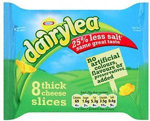 Dairylea Thick Slices (8 per pack - 200g) £1.25 BOGOF @ Tesco