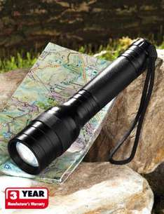 3W Cree-LED Torch for £15 @ Lidl