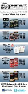 Offers For June - Buy One Get One Free @ The Supplement Store (Free Delivery)
