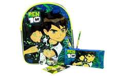 Ben 10 Backpack Stationery Set For £7.50 + £3.95 Del (Was £15) @ The Toy Shop