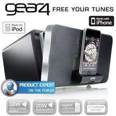 Gear4 Duo Design 2.1 Speaker Dock with Removable and Portable Satellite Speaker £47.90 @ IBOOD
