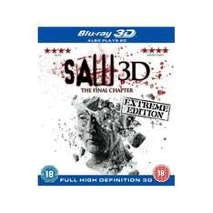 Saw 3D: The Final Chapter (Saw 7) (3D & 2D) (Blu-ray) - £10.99 @ Play & Amazon