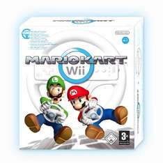 Wii Mario Kart with Wheel £24.99 at Game Online