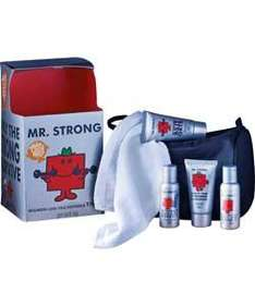 Mr Men Classic Toiletry Bag Set £6.49 R+C @ Argos (Includes 50ml shower gel,50ml shampoo,50ml shaving gel,50ml aftershave balm,Facecloth,toiletry bag)