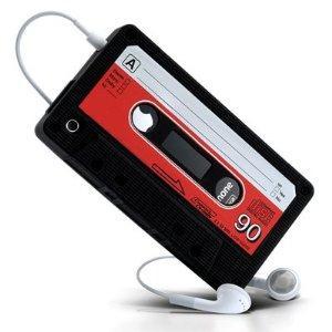 LUPO Retro Cassette Tape Style Silicone Skin Case for iPhone 4  £3.99 @ Amazon