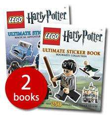 LEGO Harry Potter Ultimate Sticker Book Set - 2 Books (Paperback) £3.99  @ The Book People