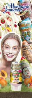 Montagne Jeunesse  Free Face Mask Sample