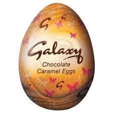 Galaxy caramel and Mars eggs 13p @ Co-op
