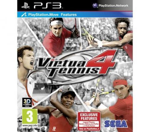 Virtua Tennis 4 PS3 (preowned) - £10 @ Asda (instore)