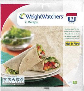 Weight Watchers Original Bagels 5 pack 67p & Weight Watchers Tortilla Wraps 6 pack - Half Price - 67p at Tesco