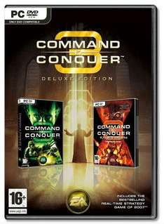 """Command & Conquer  3 """"Deluxe"""" (Tib Wars & Kanes Wrath) PC @ Game.co.uk £4.99 free delivery"""