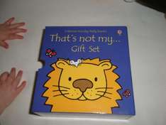 Boxed set of 3 'That's Not My...'  Childrens books (Bear, Lion and Puppy) £4 at Tesco