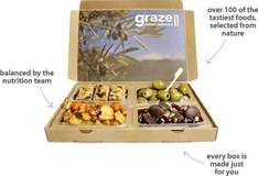 Free Graze Box and Second If you Want for Just £1.74 Delivered (Half Price) @ Graze (£1.01 TCB/£1 Quidco)