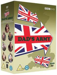 Dad's Army: Complete Series & Specials (DVD) - £27.49 Delivered @ BBCShop