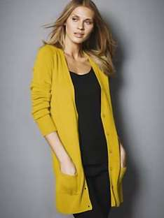 Ladies Petite Boyfriend Cardigan Chartreuse Green 75% OFF now £5 delivered from Littlewoods online sizes 6-20