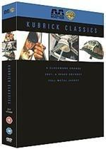 Kubrick Classics (Clockwork Orange, 2001: A Space Odyssey, Full Metal Jacket) 3xDVD £4.99 @ base