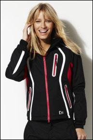 Ladies Black & White Ski Jacket @ Next sale online £40 from £95 sizes S, M & XL available