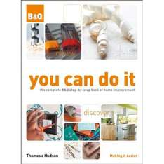 B&Q You Can Do It book £5 (save £11.98)