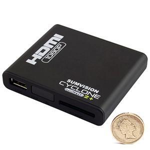 Sumvision Cyclone Micro 2+ Multi Media Player Adaptor - Full HD HDMI 1080p & 5.1 Surround Sound - World's Smallest MKV Player - BRAND NEW MODEL! £29.99 Delivered 7 Day Shop