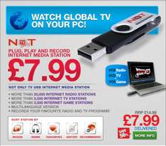 Not Only TV USB Gadgets £7.99 or 2 for £13.98 @ mymemory