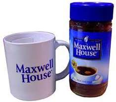 Maxwell House Coffee 70gram refill pack......50p @ Tesco instore