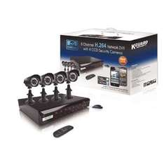 500GB 8 Channel H.264 Network DVR with 4x CCD Cameras and Smart Phone Access £279.99 with code (free delivery)