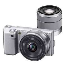 Jessops - £50 back on sony cameras and 4% through quidco - nex5 with 2 lens £549.95 + sony cashback / quidco