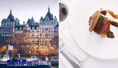 £75 -- 5* Royal Horseguards Hotel of the Year: 3 course Champagne Dinner for 2 people, normally £146 at TravelZoo