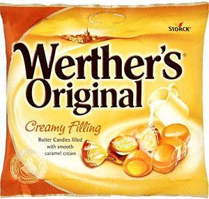 Werthers Original - Creamy Filling (BAG) 125g ~ 57p / Was £1.15 @ Tesco Instore
