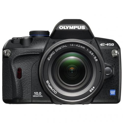 Olympus E-450 10MP Digital SLR Camera with 14-42mm Lens £289.99 @ Argos