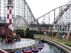 DADS GO FREE! Blackpool Pleasure Beach - Sunday 19th June