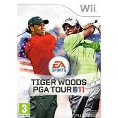 Tiger Woods 11 Wii New, £5.16 @ gzoop Amazon Marketplace