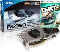 MSI ATI Radeon HD 6950 OC Twin FrozR III Power Edition 2048MB GDDR5 WITH ***DIRT 3*** @ OCUK £199.99 INC VAT