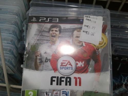 Fifa 11 PS3  @ Costco for £8.36