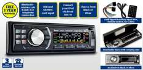 Car CD/MP3 Bluetooth Radio - £49.99 @  Aldi