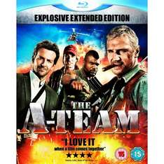 The A-Team Movie: Extended Explosive Edition: Triple Play (Blu-Ray)  - £10 Delivered @ Amazon