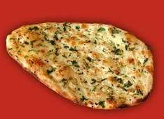 Morrisons own 2 garlic and coriander full sized naan bread 50p