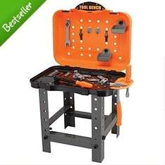 BACK IN STOCK - Kids Portable Workbench toy @ asda online was £15 now £7.50 FREE DELIVERY TO STORE